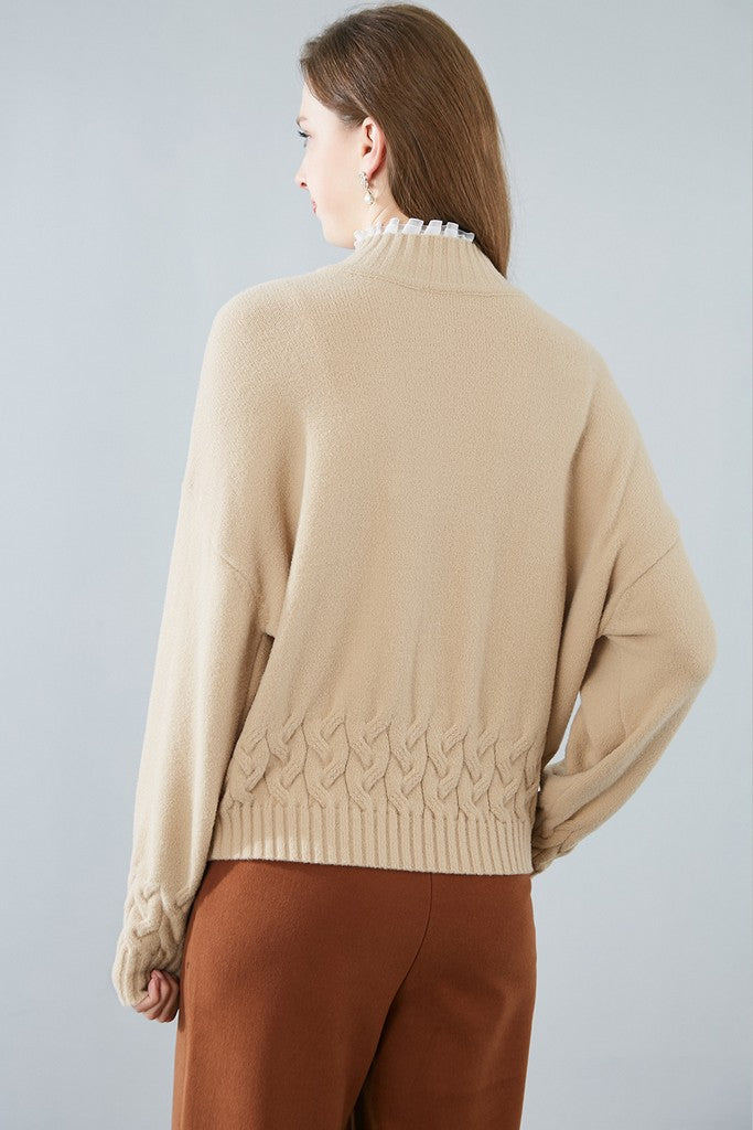 Apricot Day Sweater - Sweaters