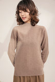Casual High Neck Sweater - Sweaters
