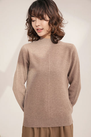 Casual High Neck Sweater
