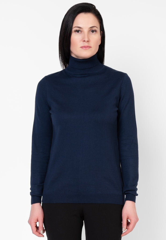 Navy Sweater - Sweaters