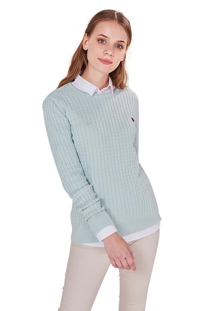 Sweater with Cuffs - Sweaters