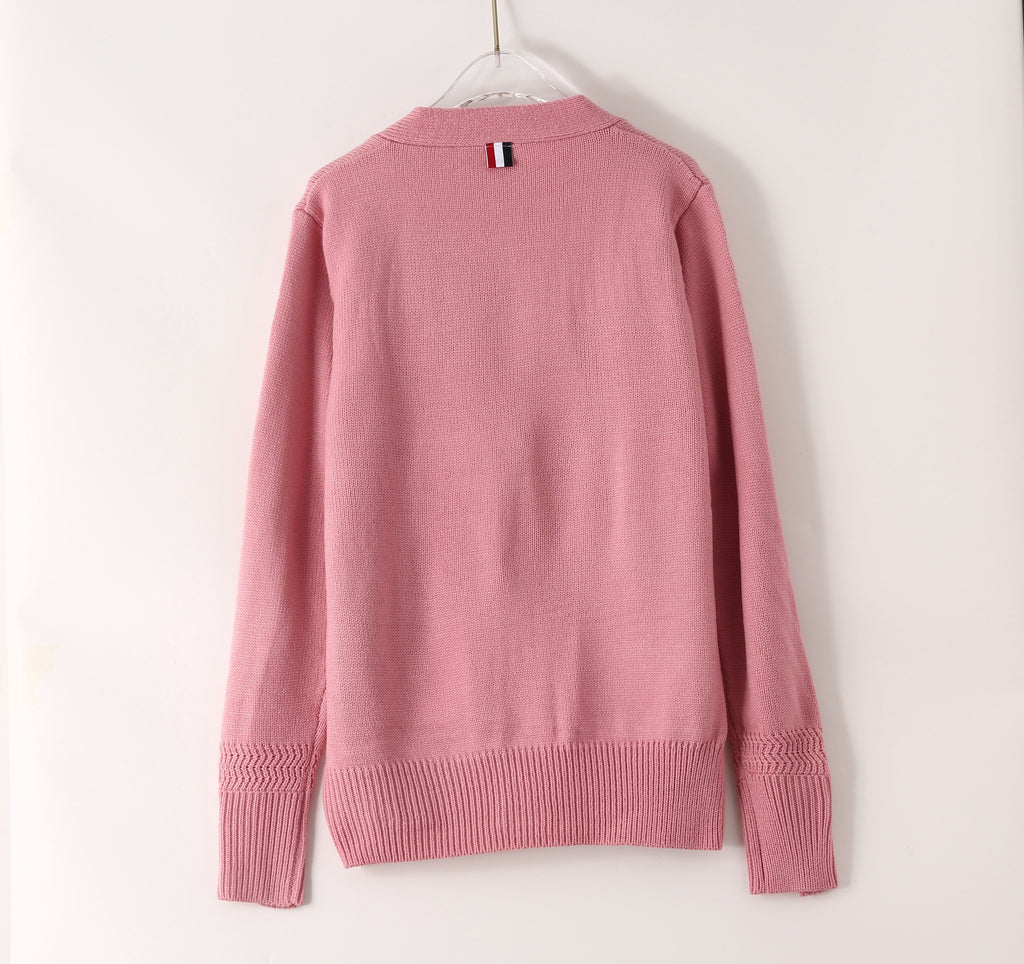 Pink Printed Jumper - Jumpers