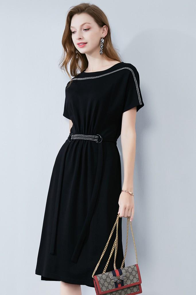 Day Black Dress - Dresses