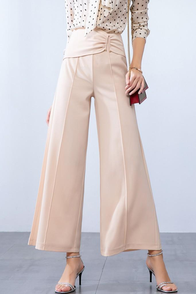 Wide Casual Pants - Pants