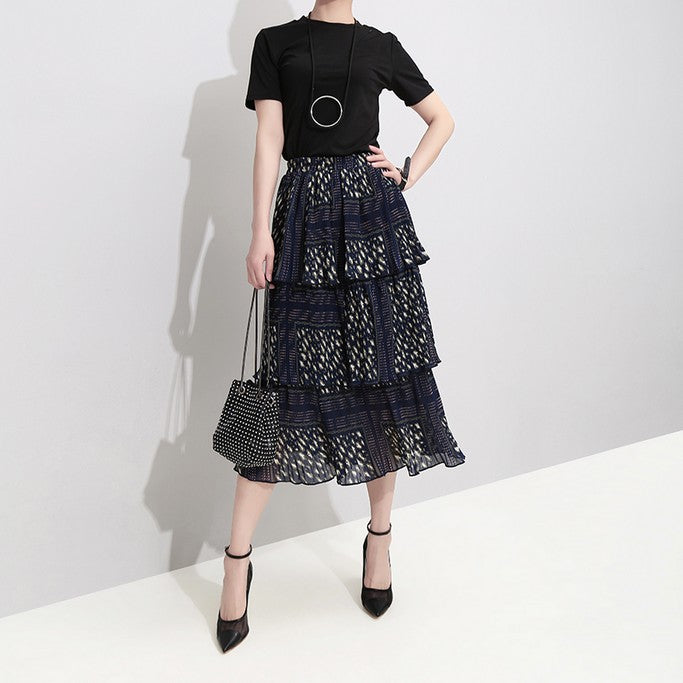 Ruffled Skirt - Skirt