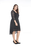 Black Party Dress - Dresses
