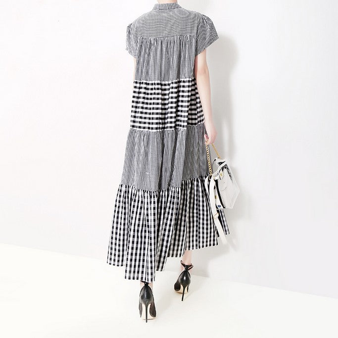 Casual Shirt Collar Dress - Dress