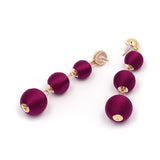 Sphere Drop Earrings - Earrings