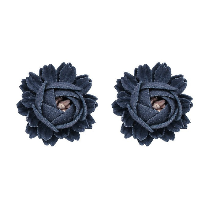 Floral Stud Earrings - Earrings