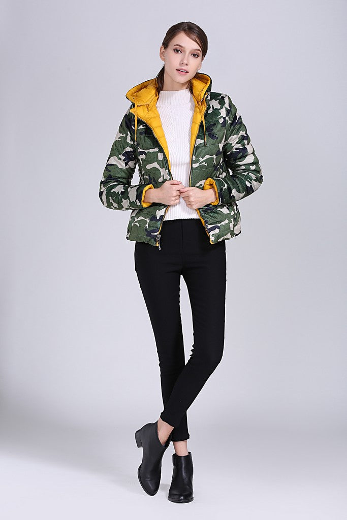 Yellow & Green Day Jacket - Jackets
