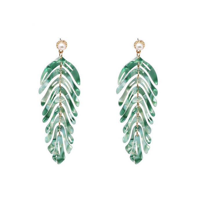 Tropical Earrings - Earrings