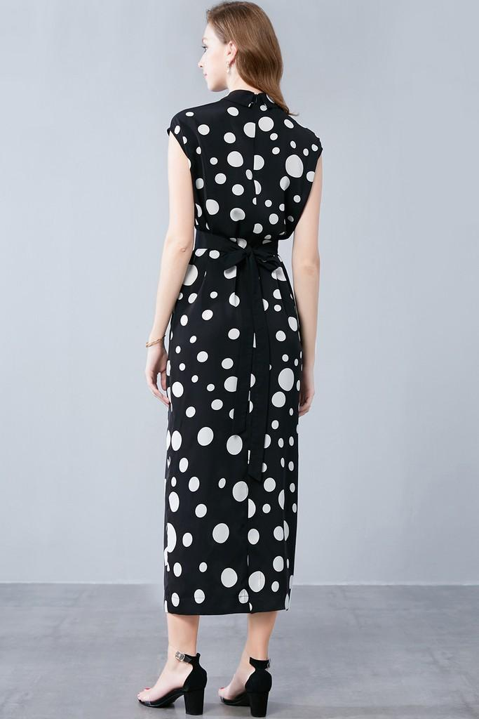 Tea Black & White Dress - Dresses