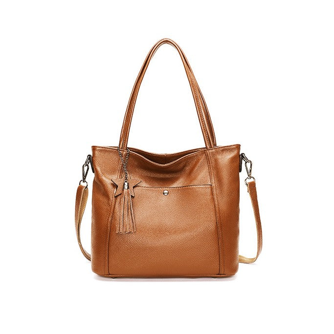 Leather Hand Bag - Bags