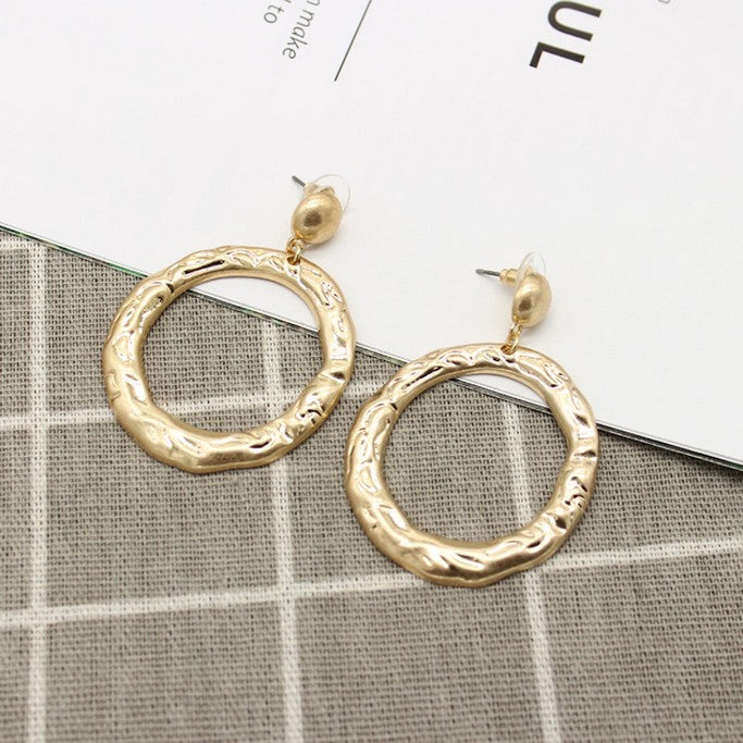 Gold Earrings - Earrings