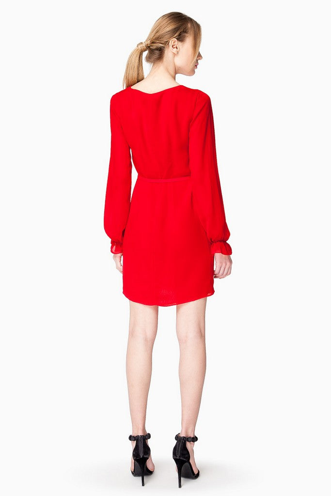 Red Day Mini Dress - Dresses