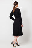 Black Day A-line Dress - Dresses