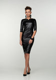Party Bodycon Key Hole Knee Viscose Dress