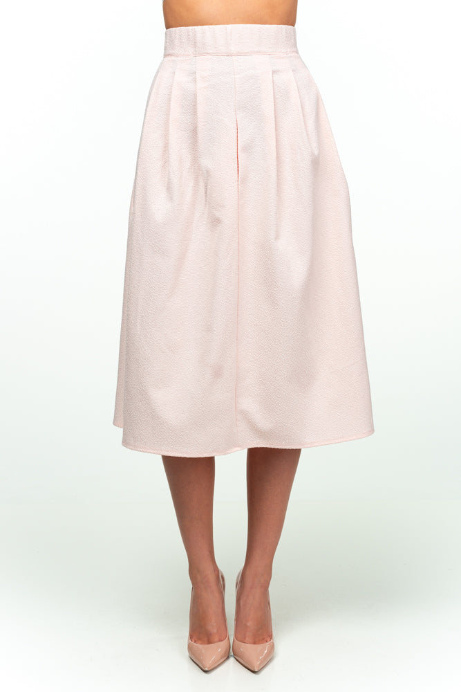 Day A-line Midi Light Zhakkard Cotton Skirt