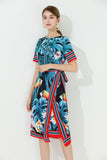 Multicolor Tropical Printed Dress - Dresses