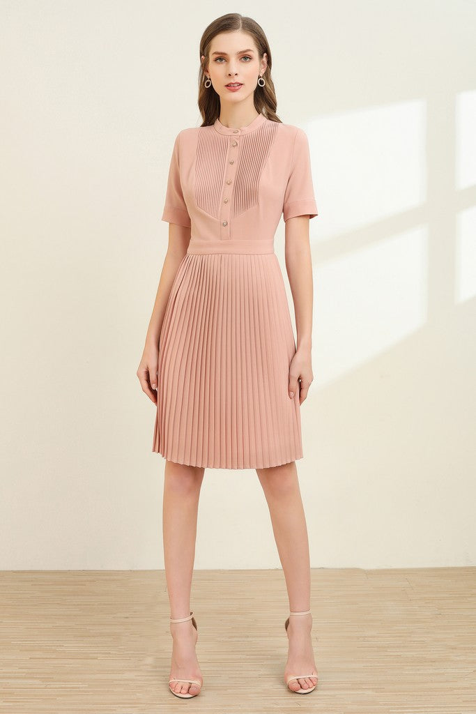 Pink Office Dress