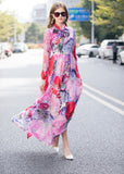 Multicolor Print Dress - Dresses