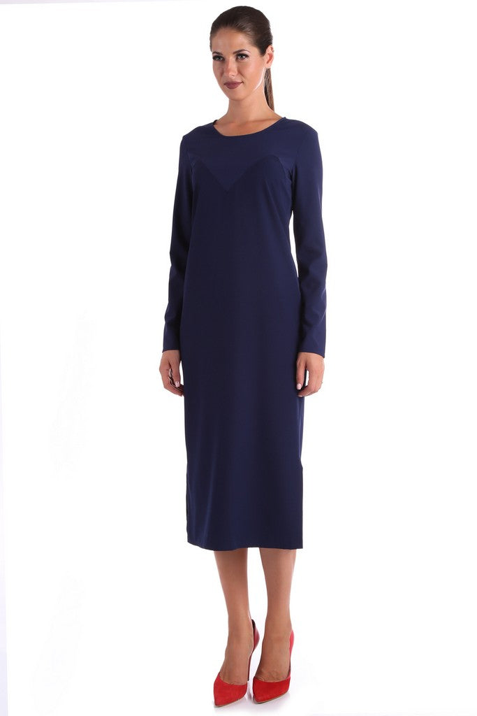 Navy Day Dress