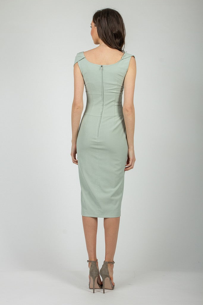 Light Green Summer Evening Сocktail Dress - Dresses