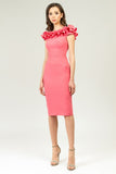 Pink Summer Сocktail & Party Dress - Dresses