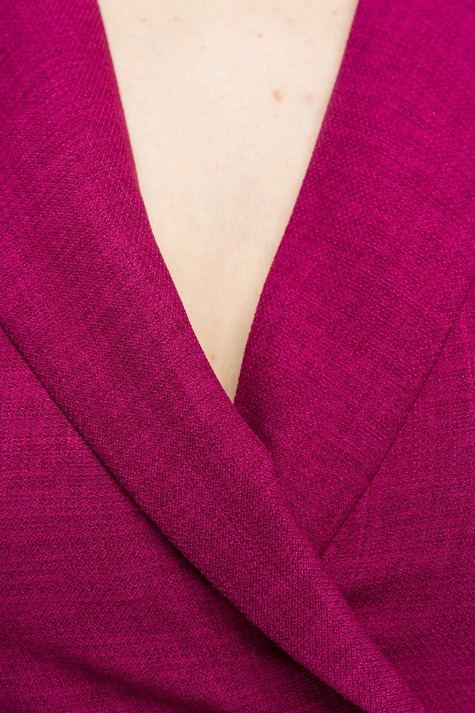 Fuchsia Day Dress - Dresses