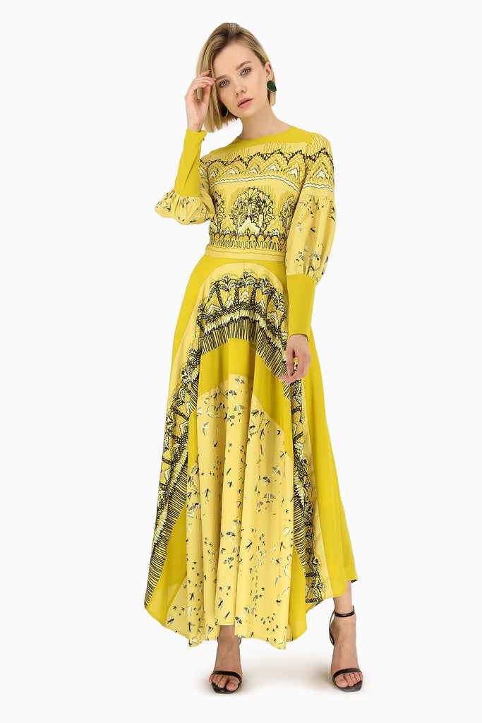 Pale Yellow Day Dress - Dresses