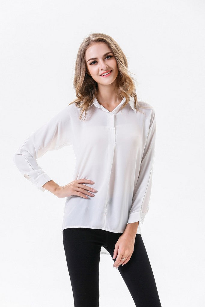 Longsleeved Office Shirt - Shirts