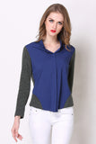 Office Navy Longsleeved Shirt