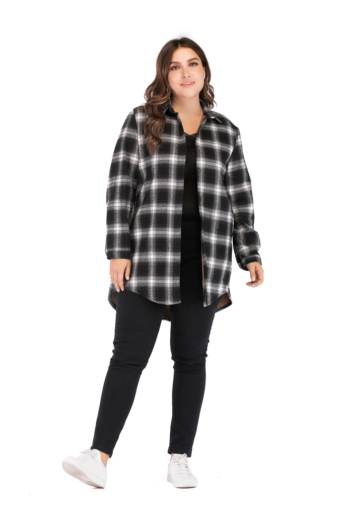 Casual Checkered Printed Shirt - Shirts