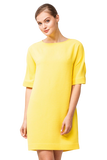 Yellow Casual Mini Dress - Dresses