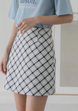 Mini Striped Skirt - Skirts