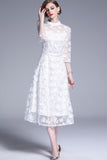 White Evening Dress - Dresses