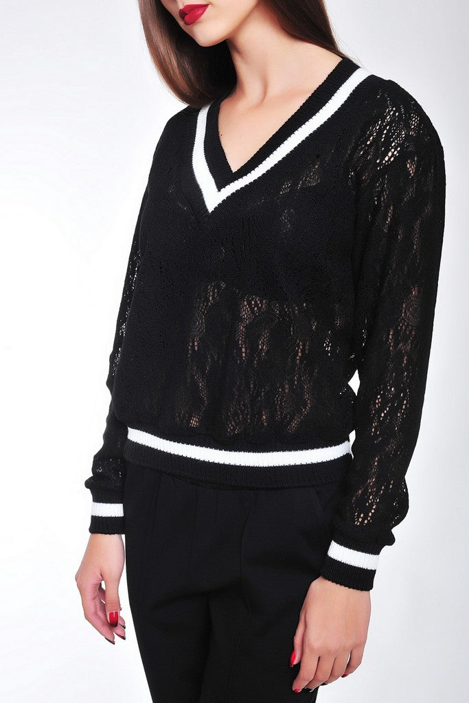 Black Day or Office Elegant Jumper