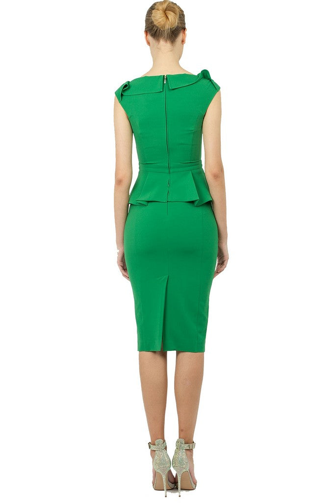 Office Summer Mint Set (Blouse and skirt) - Suits