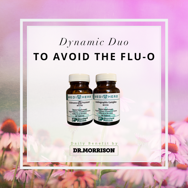 Supplement Spotlight: Dynamic Duo to Avoid the Flu-o