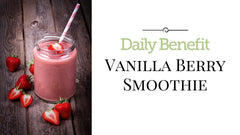 Daily Benefit Vanilla Berry Smoothie