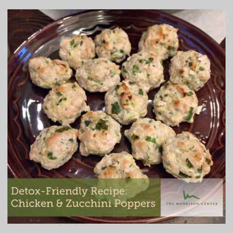Chicken and Zucchini Poppers
