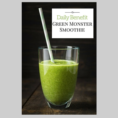 Green Monster Smoothie by The Morrison Center