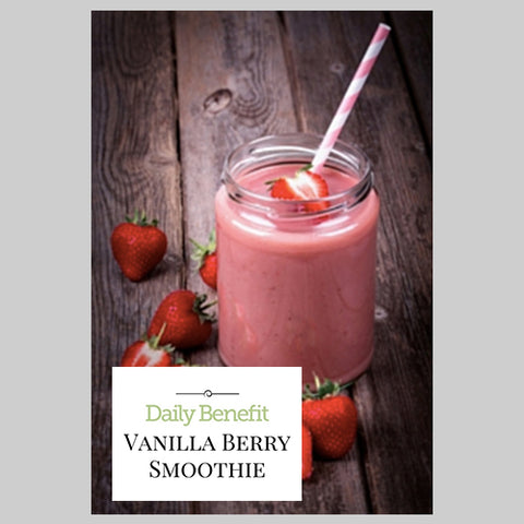 Vanilla Berry Smoothie by The Morrison Center