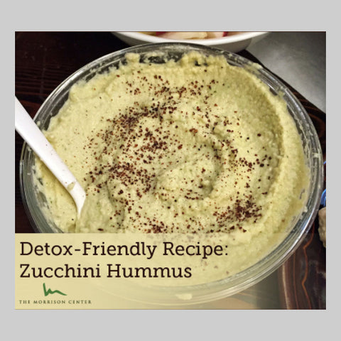 Zucchini Hummus by The Morrison Center