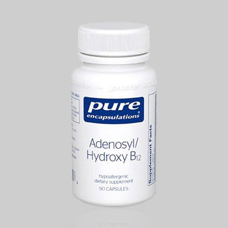 Adenosyl/Hydroxy Vitamin B12 for Energy, Mood and Nerve Health