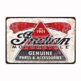 [ Mike86 ] SHELL Champion Indian Mobil Route 66 Motor Oil Tin SIGN Dad Garage decor Tire Poster old Metal Painting FG-213 - one46.com.au