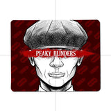 MaiYaCa  Tommy Shelby Peaky Blinders Customized laptop Gaming small mouse pad Size 25x29cm 18x22cm Rubber Mousemats - one46.com.au