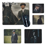 MaiYaCa  TVs and Movie Peaky Blinders  Customized laptop Gaming small mouse pad Size 25x29cm 18x22cm Rubber Mousemats - one46.com.au