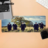 Yinuoda New Arrivals Peaky Blinders Natural Rubber Gaming mousepad Desk Mat Size for 250*290 300*900  400*900mm