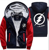 2019 Winter The  Jackets men hipster Coat Anime Justice League Hooded fashion Thick Zipper Sweatshirt fleece tracksuit down - one46.com.au